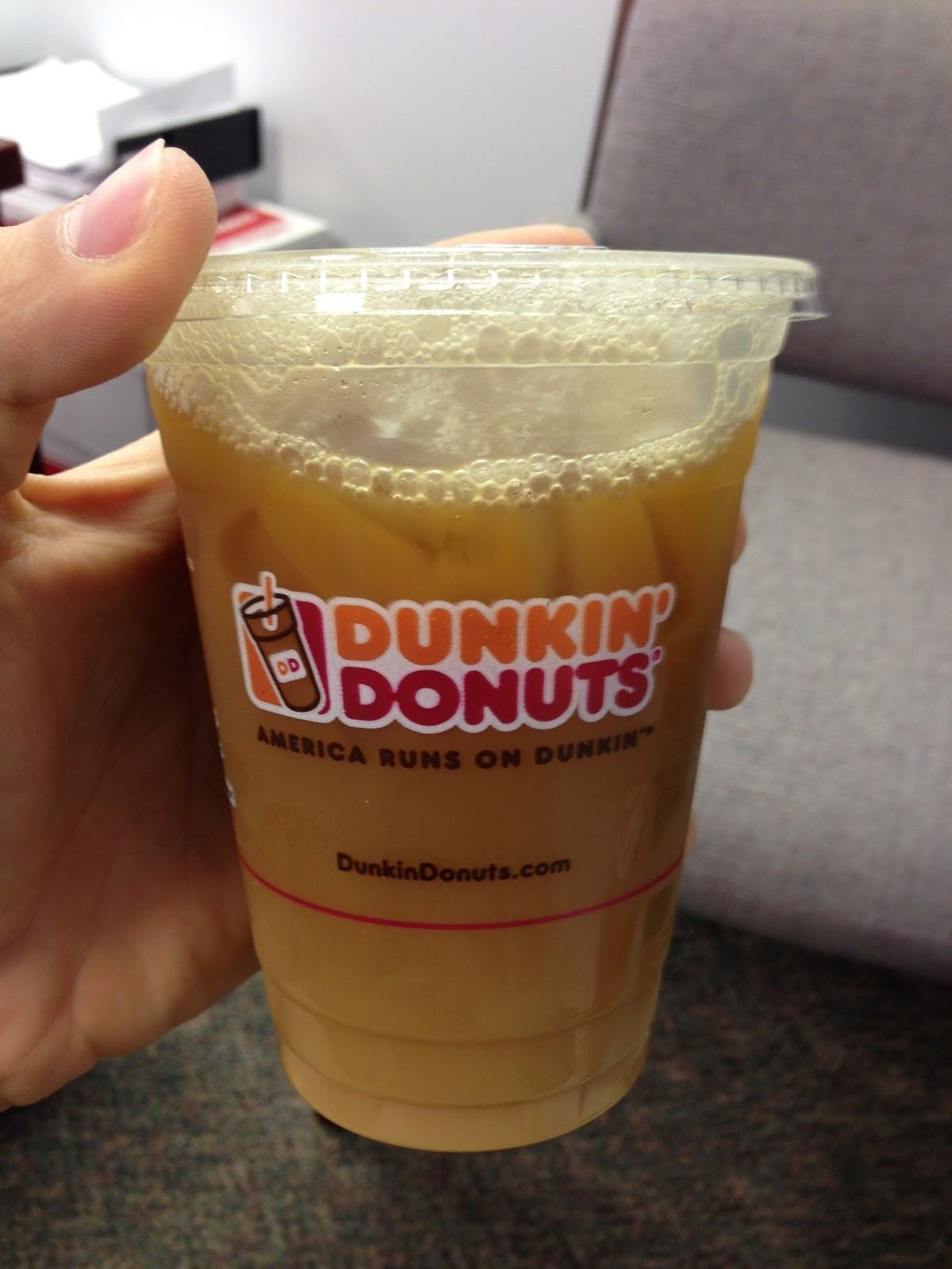 Dunkin' Donuts Old Fashioned Butter Pecan Iced Coffee [Review ...