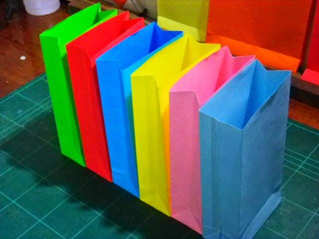 งานทำที่บ้าน, งานพับถุง, งานพับถุงทำที่บ้าน, กระดาษไอเดียเวิร์ค