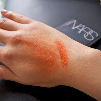 nars taj mahal blush swatches