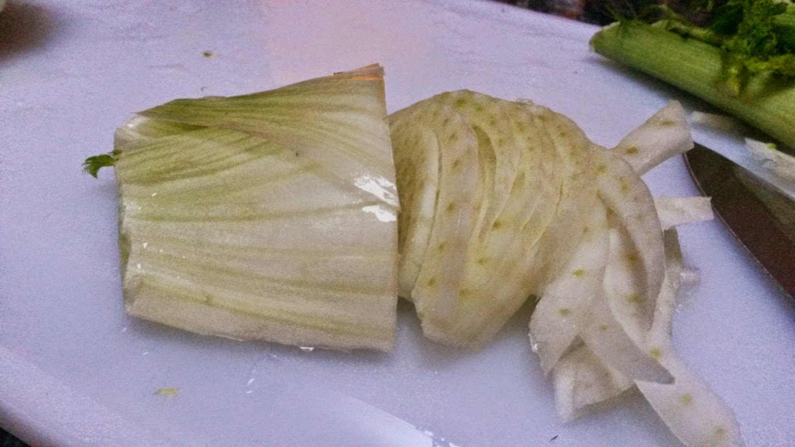 Delightful Sliced Fennel