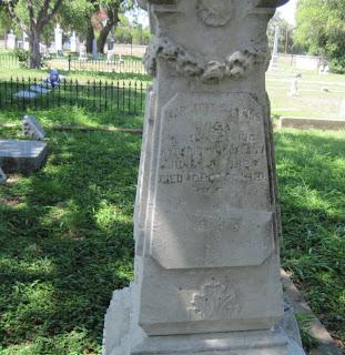 Margaret Burns inscription