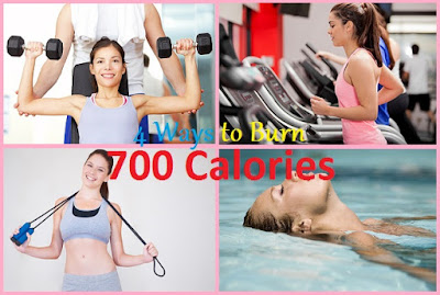 4 Different Ways to Burn 700 Calories