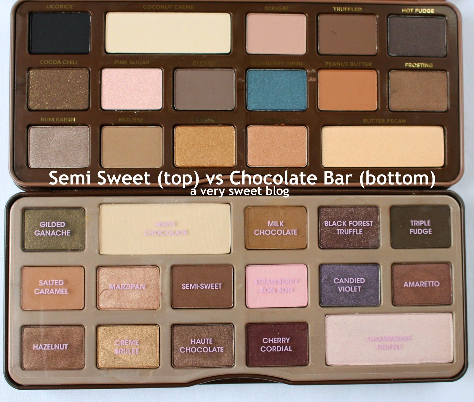 too faced semi sweet chocolate bar original chocolate. Black Bedroom Furniture Sets. Home Design Ideas