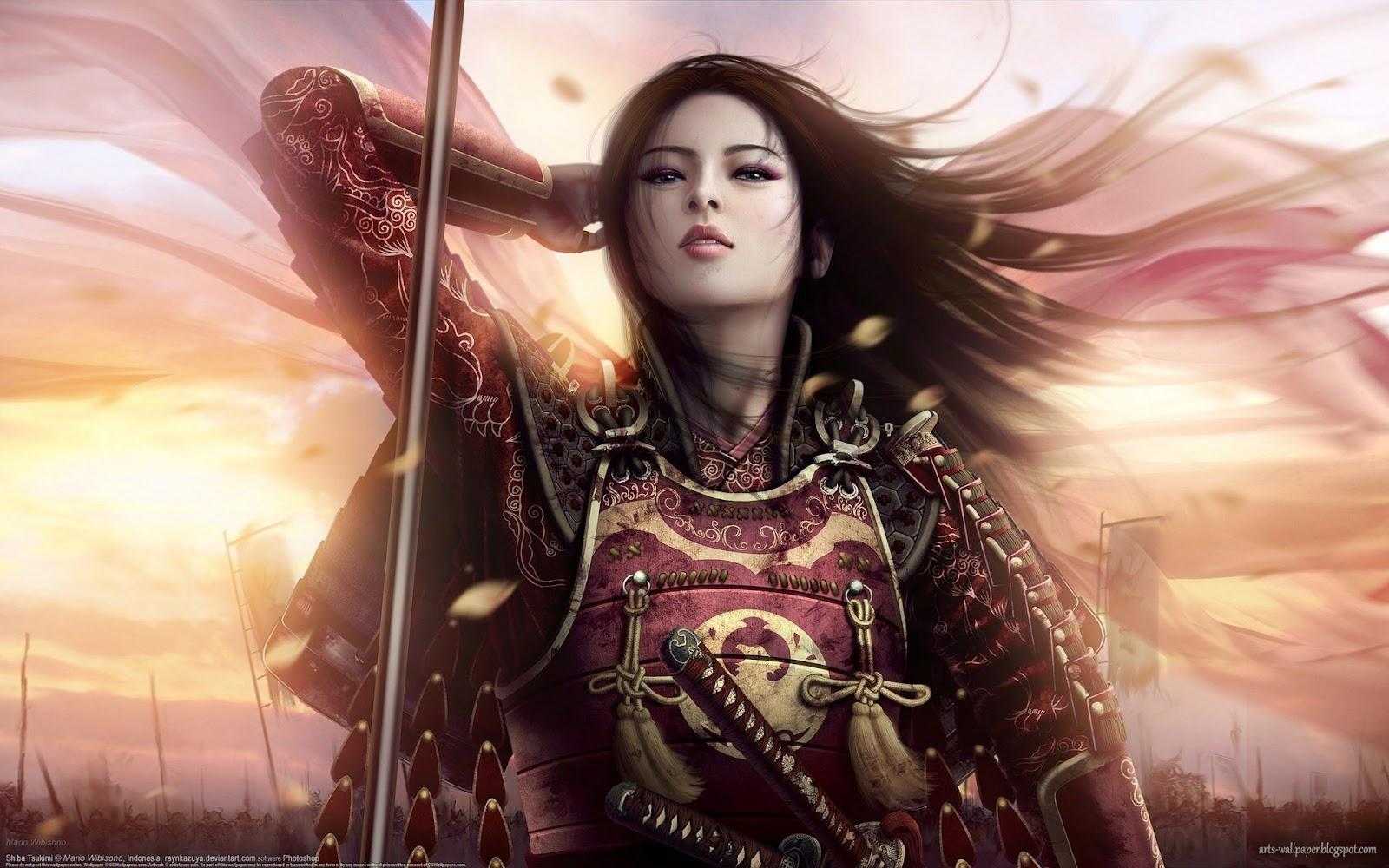 Cg art wallpaper mario wibisono artwork 13 arts wallpaper - Fantasy female warrior artwork ...