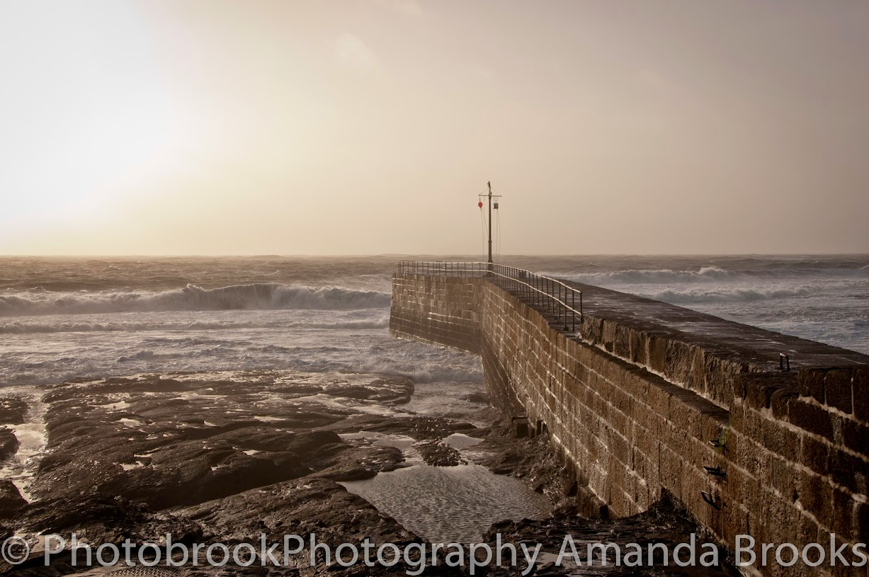 Porthleven during storms