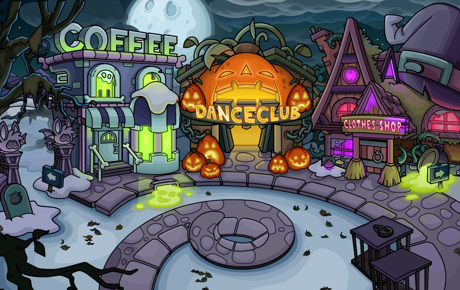 Club Penguin Halloween Party 2015 Room Spoilers! - The Penguin Times