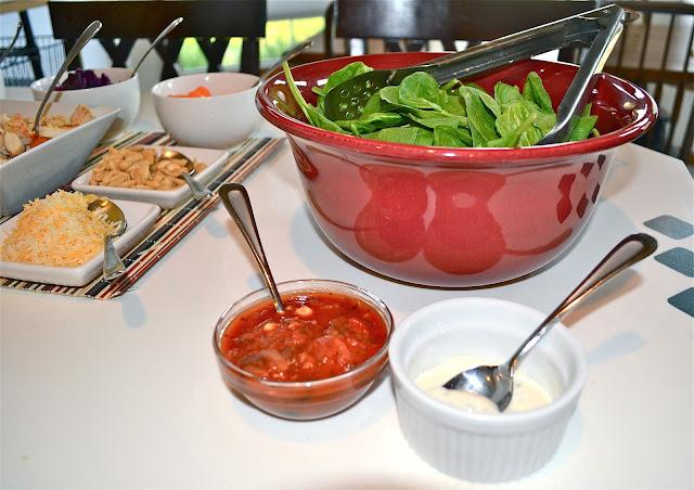 Other Salad Bar Topping Ideas Frozen Corn Peas Raisins Almonds Kidney Beans Black Fruit You Have Around Deli Meats