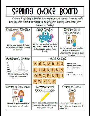 Homework help for spelling