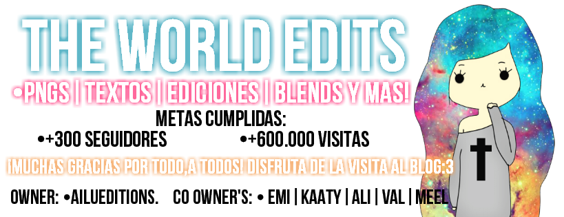 The World Edits