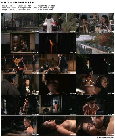[18+] Beautiful Teacher in Torture Hell (1985) DVDRip 350MB