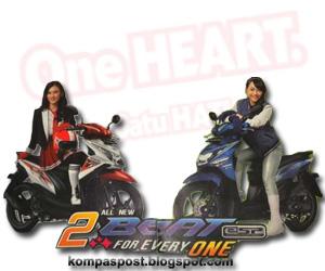 Motor Honda Beat eSP dan Pop eSP