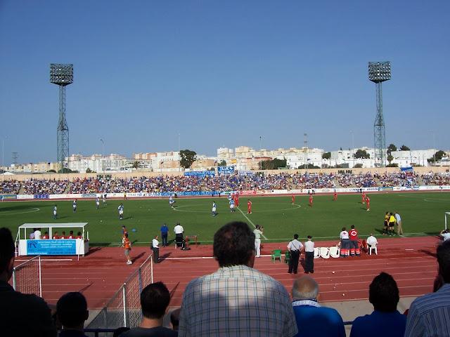 Estadio Iberoamericano, dónde juega el San Fernando C.D. equipo de la segunda división B, grupo 4