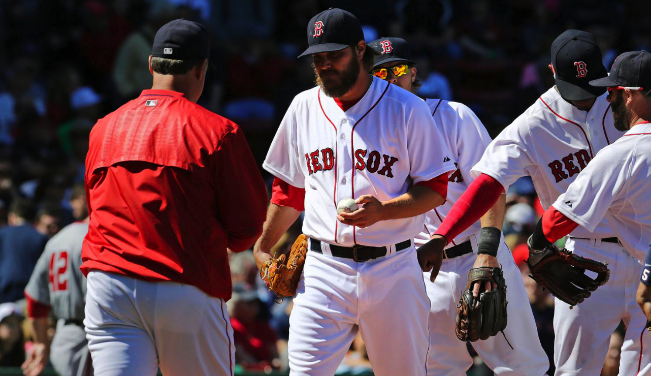 Red Sox 'Wade' Into Big Trouble; Lose, 10-5