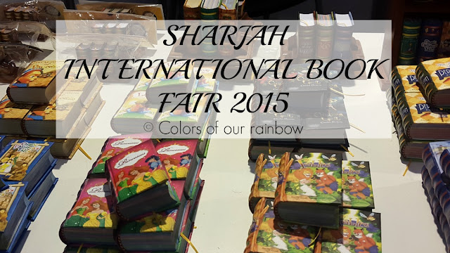 SHARJAH INTERNATIONAL BOOK FAIR 2015 @http://colorsofourrainbow.blogspot.ae/
