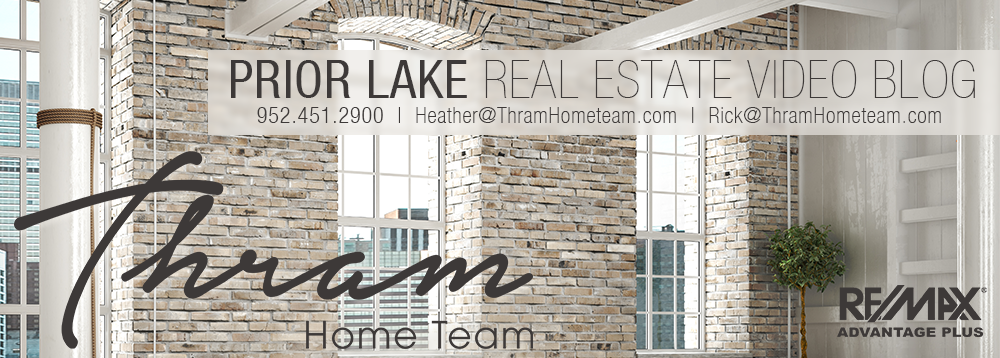 Prior Lake Real Estate Video Blog with Heather and Rick Thram