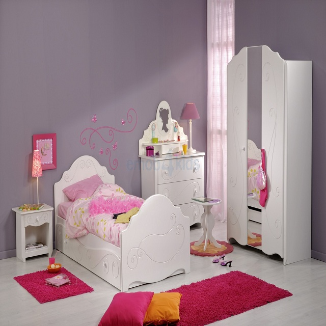 Plus belle chambre bebe fille for Belle chambre fille
