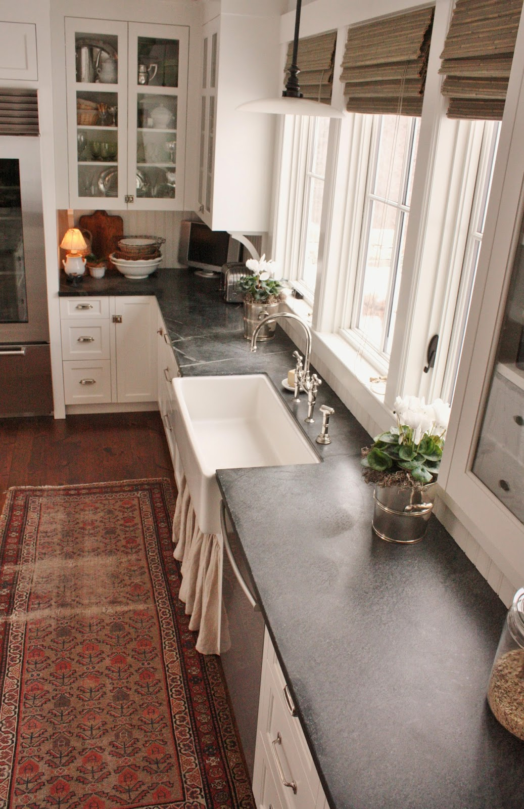 for the of a house: Soapstone... Soapstone Countertops With Slate Floors Html on