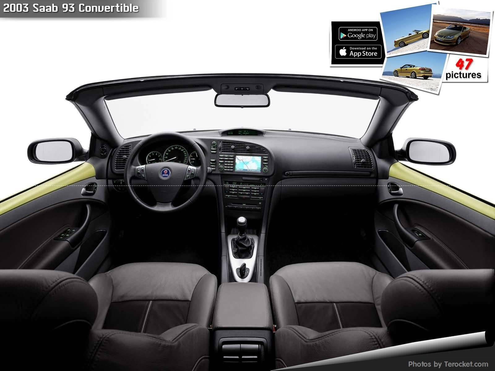 Hình ảnh xe ô tô Saab 93 Convertible 2003 & nội ngoại thất