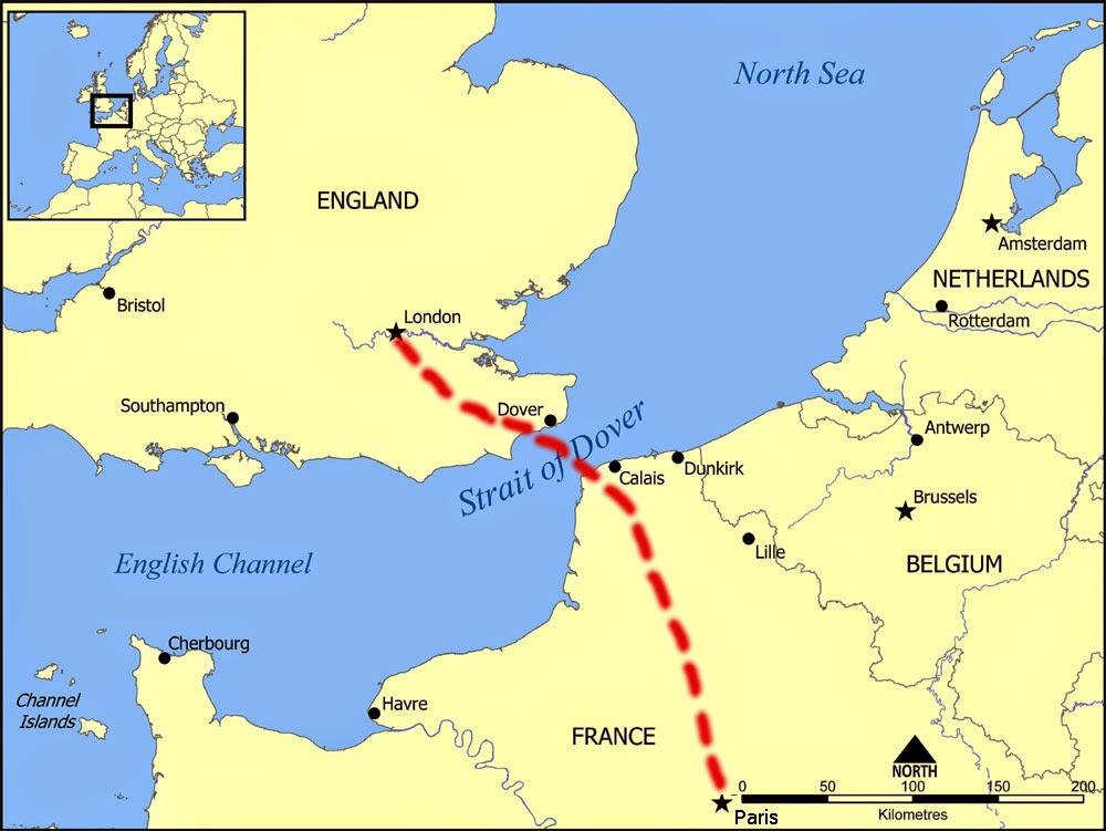 Our Londonparis Escapade Travel From London To Paris: Eurostar Map London To Paris At Infoasik.co