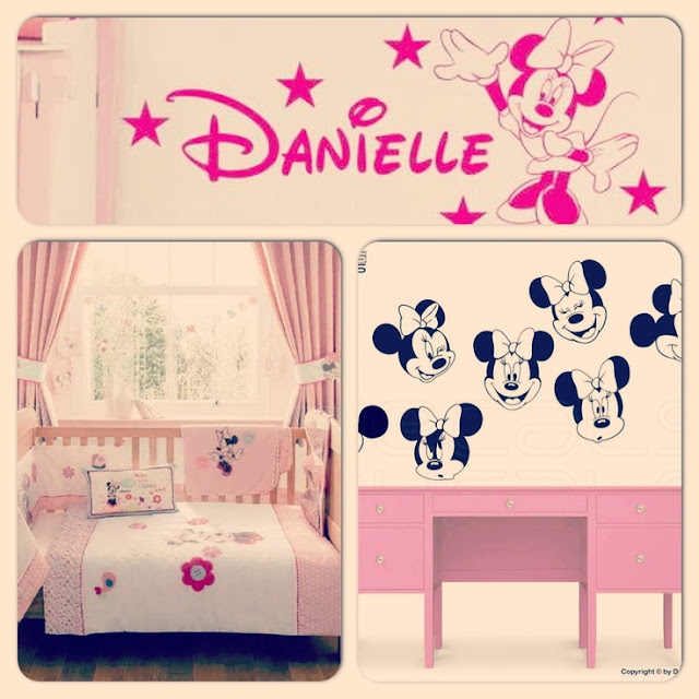 Cute Minnie Mouse Bedroom Decor Ideas for Kids