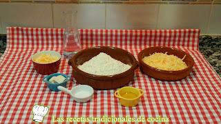 Receta fácil de pan de queso