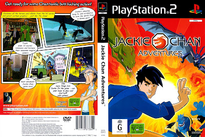 Jackie Chan Adventures PS2 DVD Capa