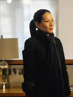 Lucy Liu as Joan Watson in CBS Elementary Episode # 21 A Landmark Story