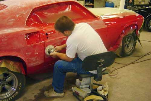 Restoring classic cars with quality paint body work d for Car painting atlanta