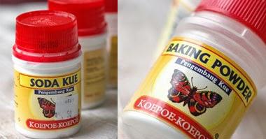 perbedaan baking soda dan baking powder