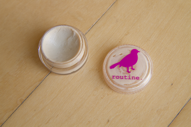 Photo of Routine deodorant.