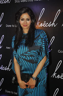 Sridevi with daughter Jhanvi kapoor at Kresha Bajaj Presents Koecsh Over A Rocking Launch