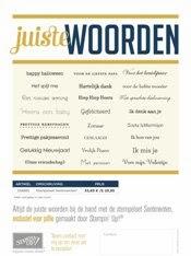 nederlandse Stampin'Up! stempels
