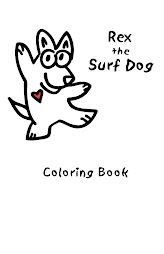 Rex the Surf Dog Coloring Book