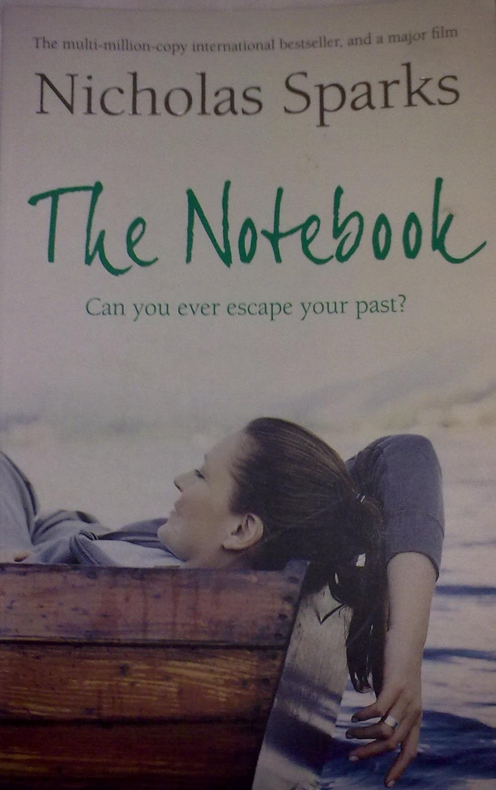 "an analysis of the novel the notebook by nicholas sparks Writing on instinct: nicholas sparks by: ""there's a difference between writing a good novel or with the success of the notebook, sparks also was free to."