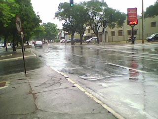 Chove na w3 Sul neste momento
