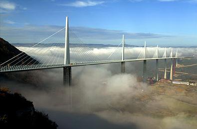 Jembatan Millau (Jembatan Tertinggi di Dunia) Perancis