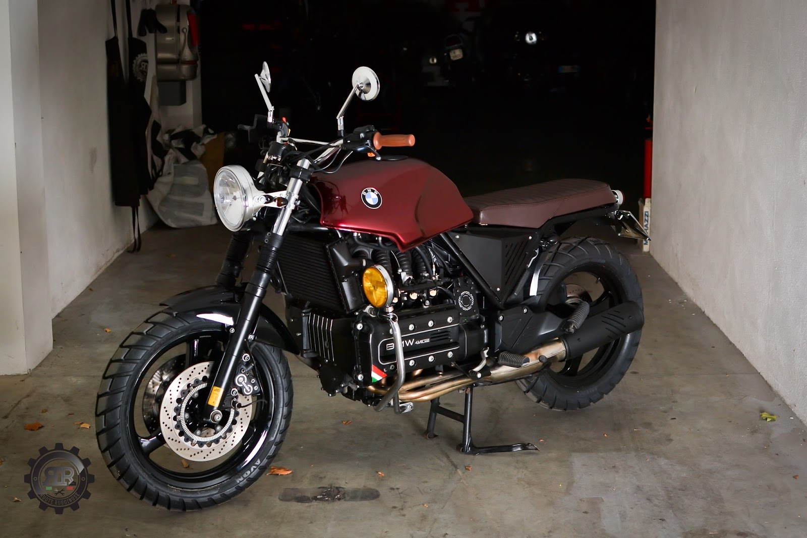 ruote rugginose bmw k100 scrambler ruote rugginose. Black Bedroom Furniture Sets. Home Design Ideas