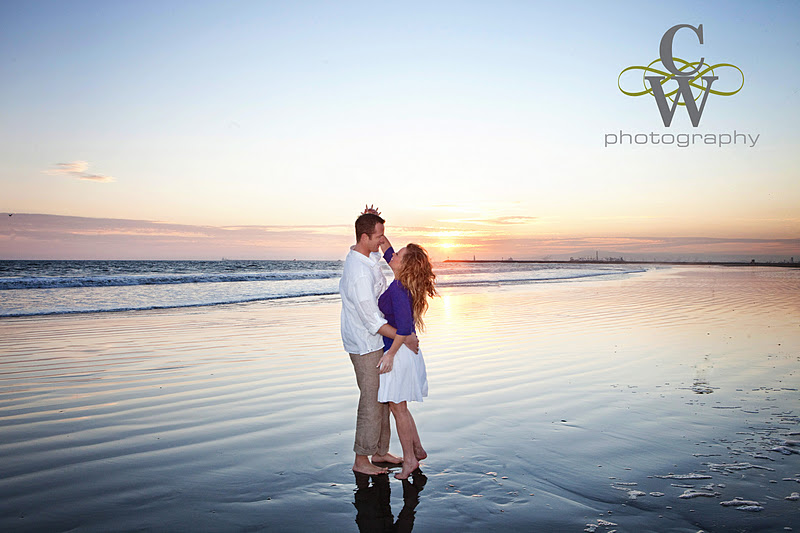 Engagement Portrait, Seal Beach