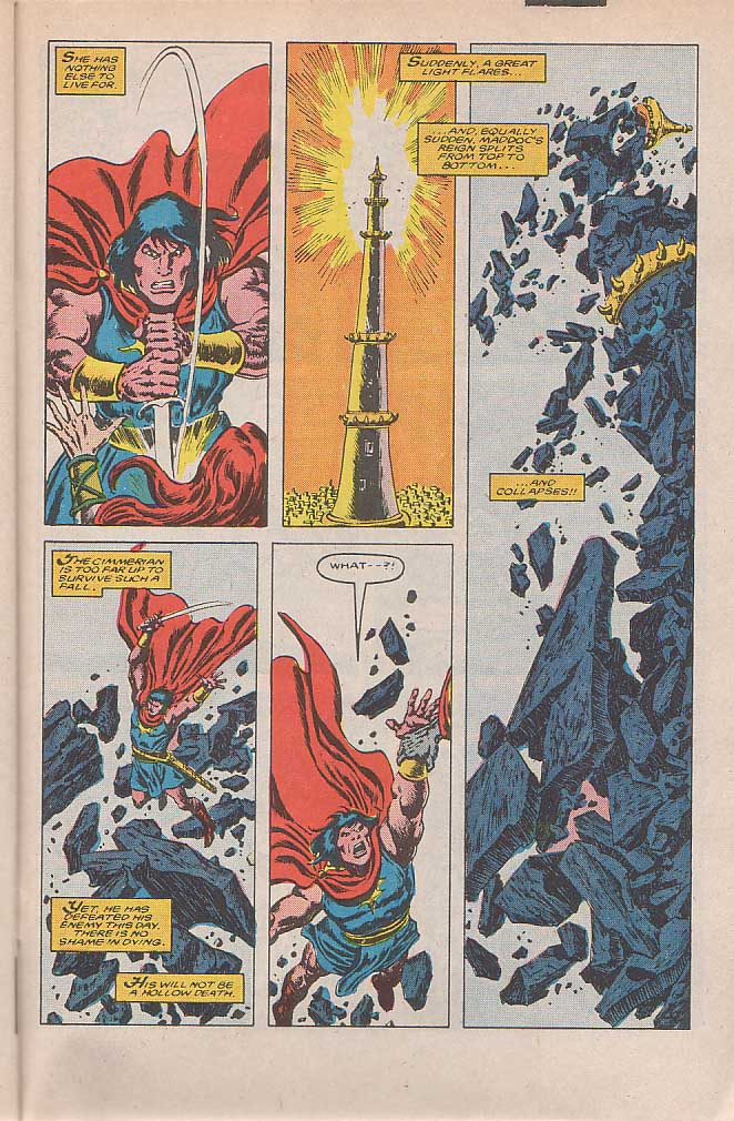 Conan the Barbarian (1970) Issue #185 #197 - English 22
