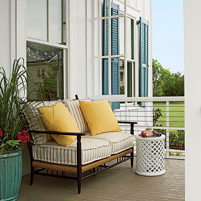 Coastal Living Showcase porch