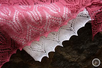 sunflower shawl rosebud