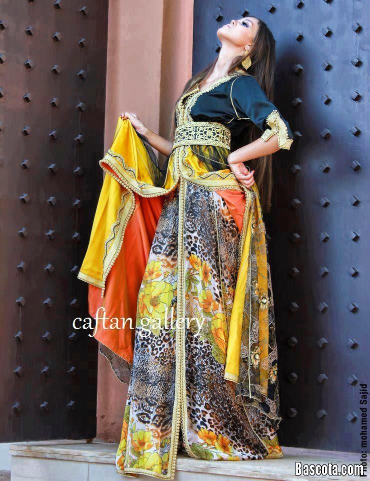 صور أزياء و قفاطن مغربية روعة