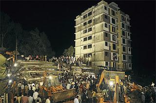 Bangunan runtuh di mumbai, 47 maut