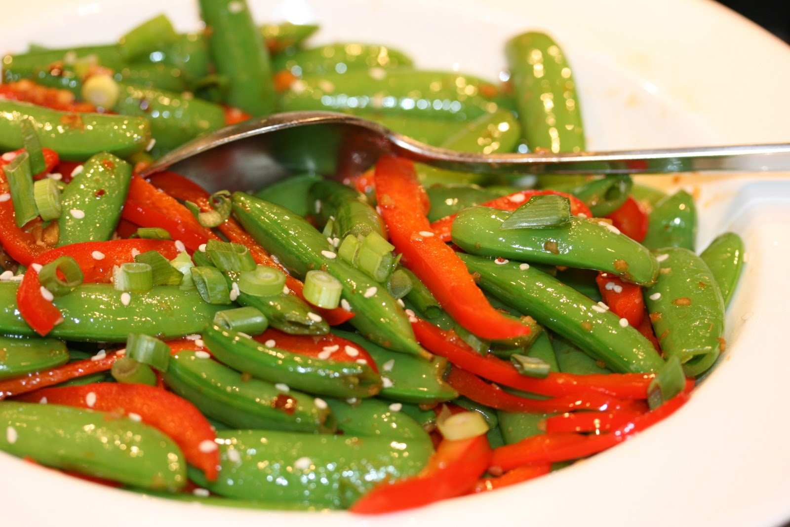 Snap Peas With Crispy Shallots Recipes — Dishmaps