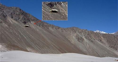 Ufo Base In Kongka La Pass  Himalayas Near India