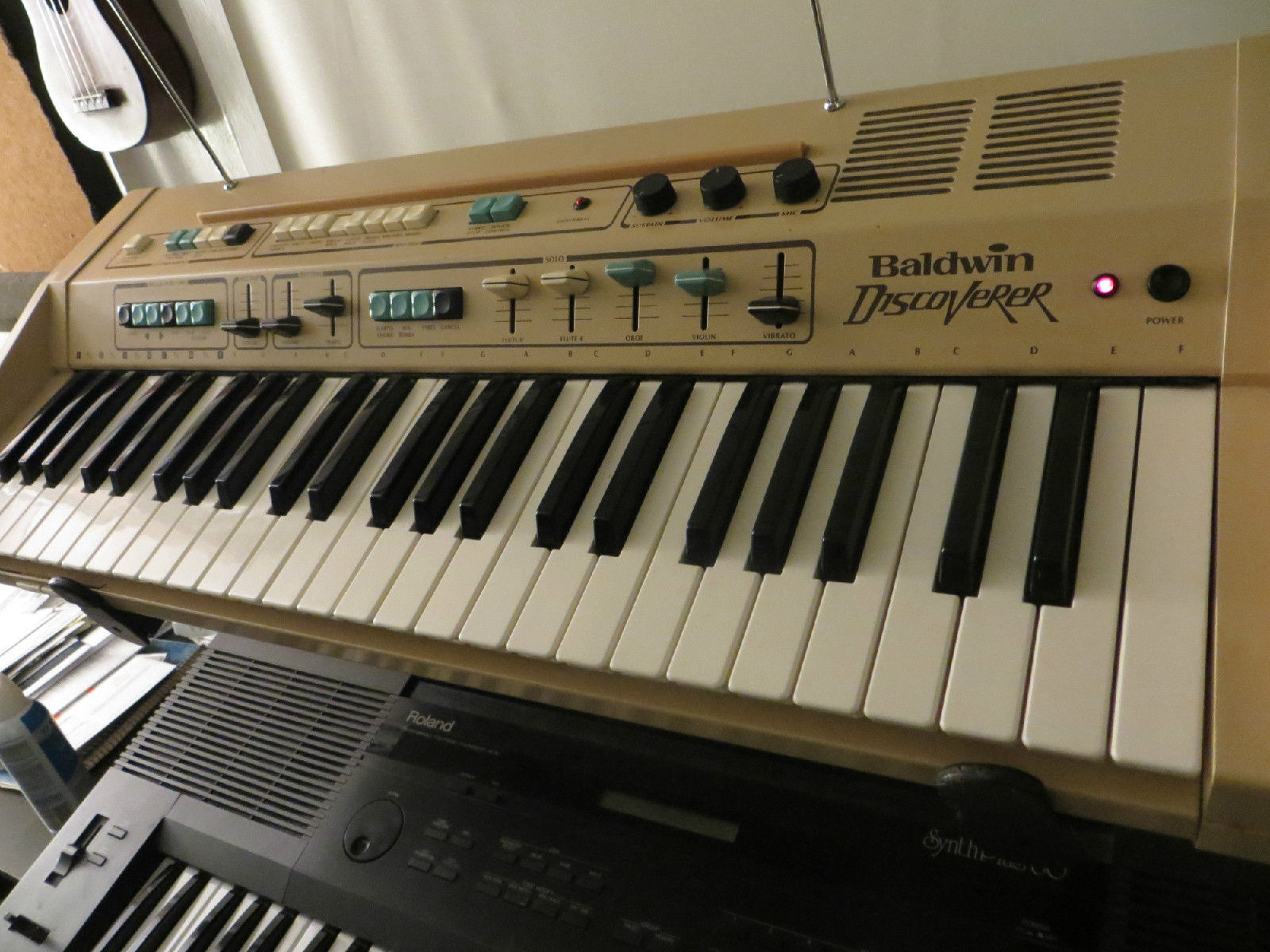 organ drum machine