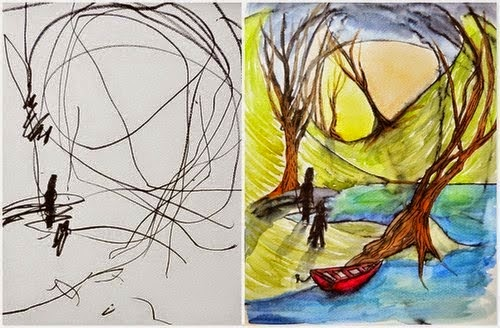 Ibu Kanak-kanak Ini Ubah Contengan Anaknya Menjadi Lukisan Yang Cantik