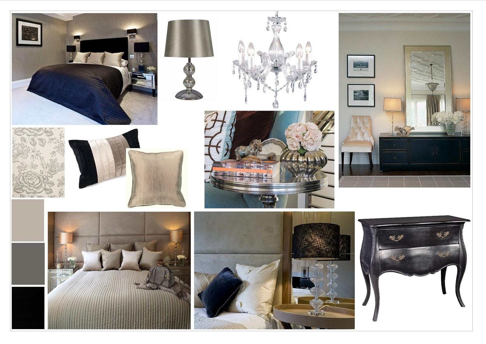 Amazing Mood Board   Luxury Bedroom