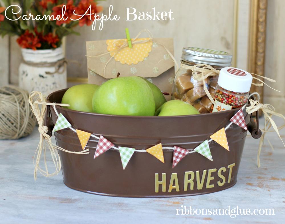 Caramel Apple Basket