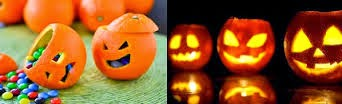 Ideas para Utilizar Naranjas y Decorar en Halloween
